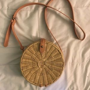Rattan Circle Crossbody bag Target